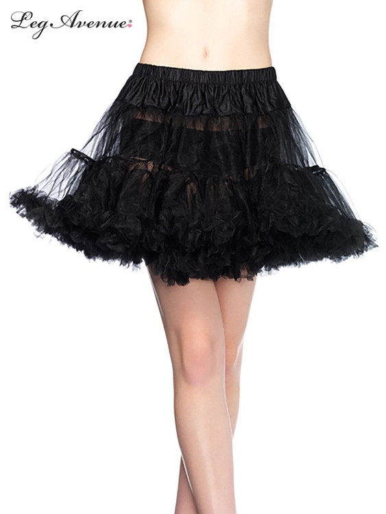 Petticoat Layered Tulle Black