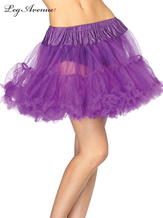 Petticoat Layered Tulle Purple