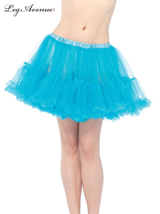 Petticoat Layered Tulle Turquoise