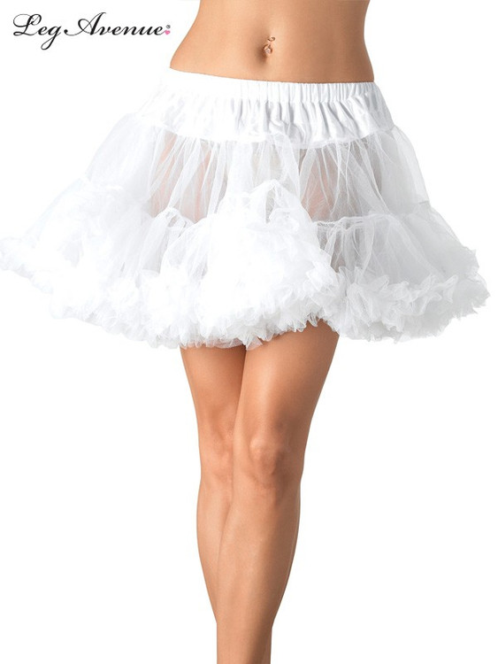 Petticoat Layered Tulle White