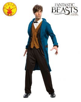 Amazing Harry Potter Newt Scamander Deluxe Adult Costume