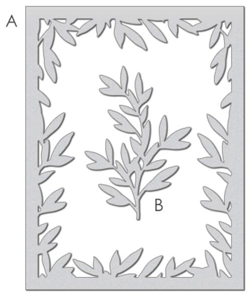 Foliage Frame Die