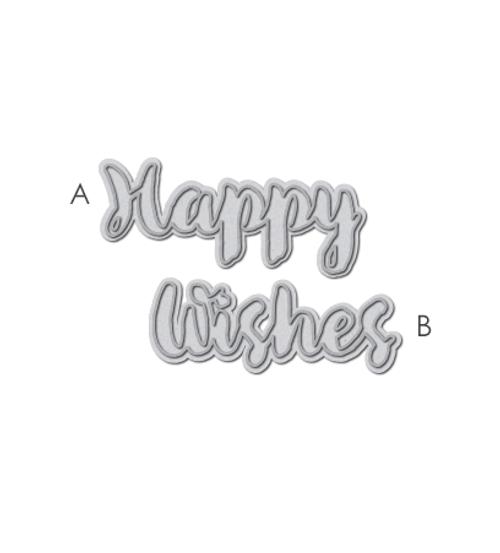 Happy Wishes Words Die