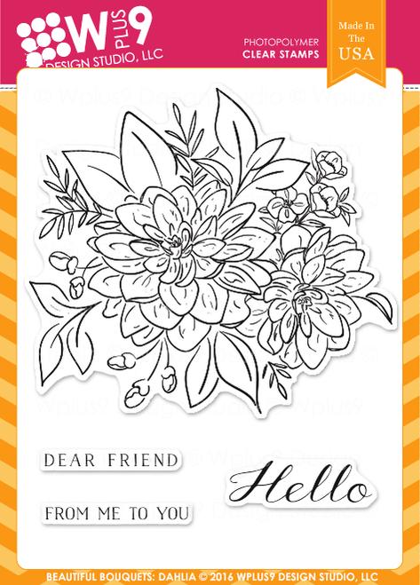 Beautiful Bouquet: Dahlia