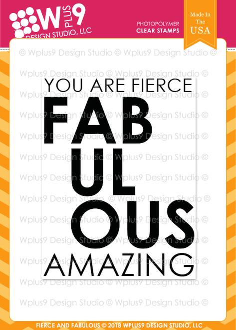 Fierce and Fabulous