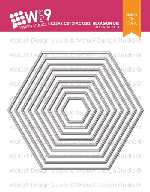 Clear Cut Stackers: Hexagon