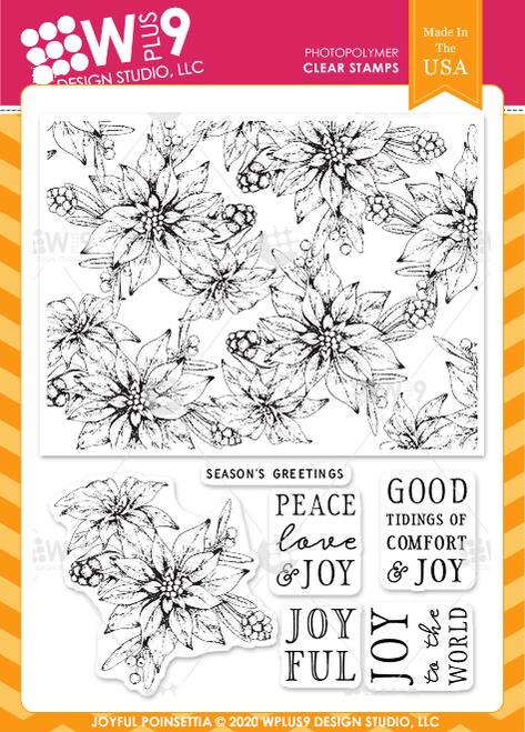 Joyful Poinsettia