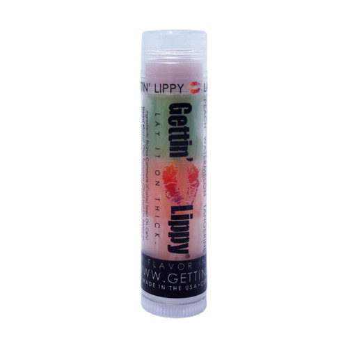 The first flavor you will enjoy is the Peach for the whole pink section, once the pink is all gone you will go to the green which is Watermelon, then onto orange and enjoy Tangerine!  All of the lip balms no matter what color in the tube... apply clear to the lips!  These lip balms are moisturizing and are amazing!   By ordering 6 or 12 of these lip balms it will save you $$$$! So don't forget to get some for your friends!!  1 ~ Pink: Peach, Green: Watermelon, and Orange: Tangerine