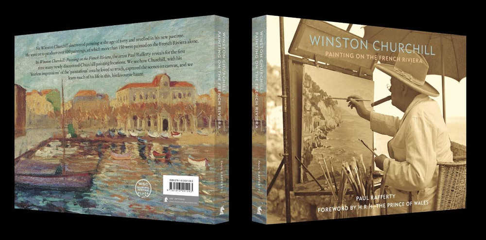 Winston Churchill: Painting on the French Riviera by Paul Rafferty