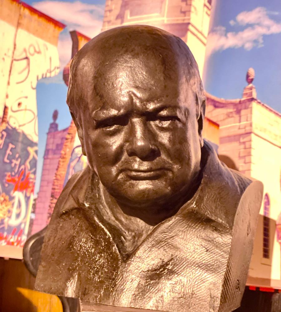 Churchill National Portrait Bust by Oscar Nemon