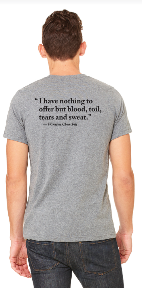 Blood, Toil, Tears and Sweat T-Shirt - America's National Churchill Museum  Store