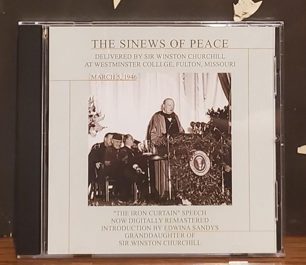 Sinews of Peace Speech (CD)