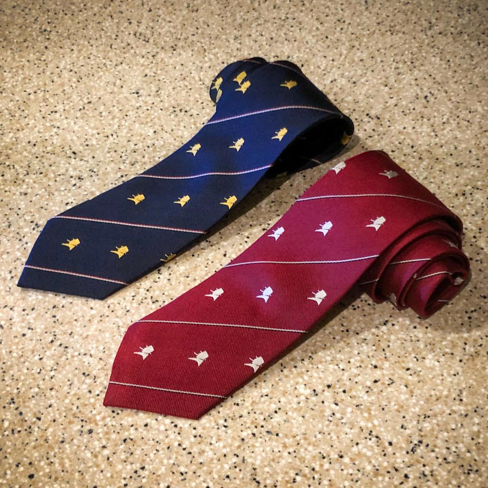 Red Churchill Necktie