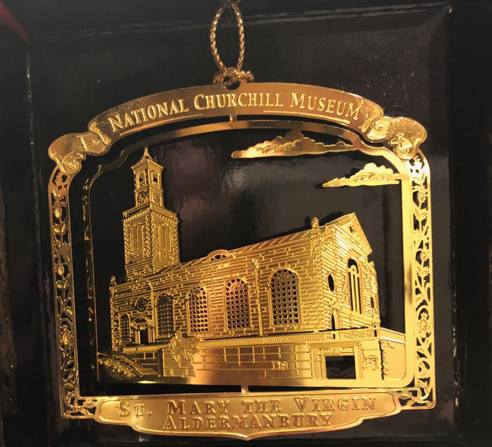 Church of St. Mary the Virgin, Aldermanbury Ornament