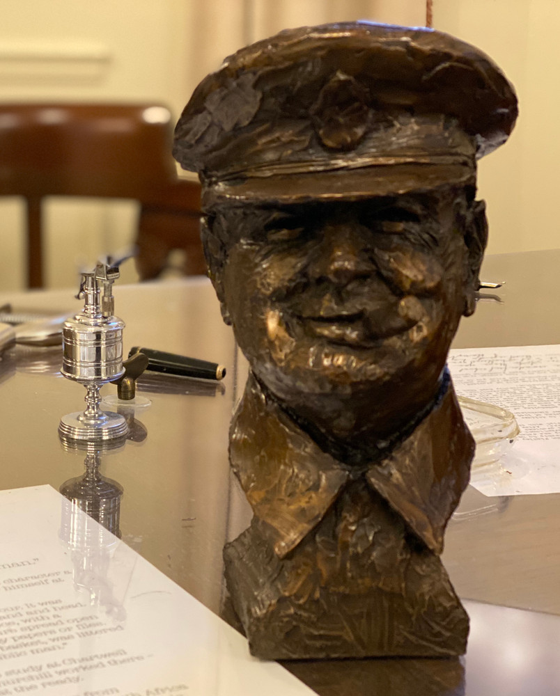 Winston Churchill Bust by Lawrence Holofcener