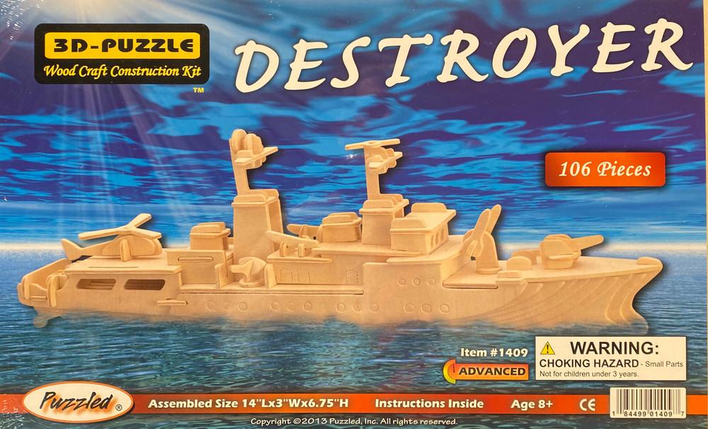 Destoyer 3D Puzzle