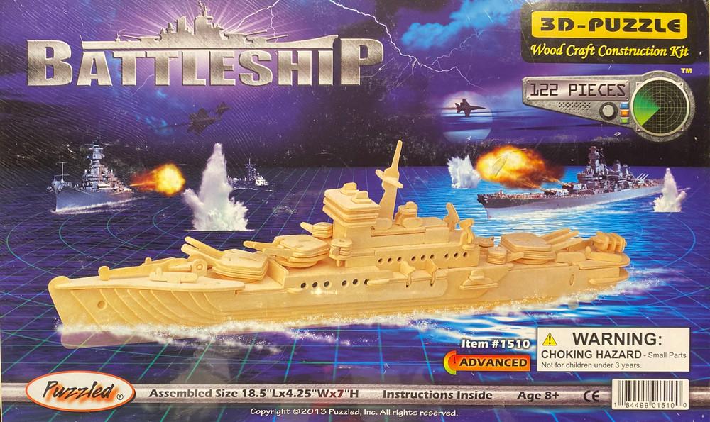 Battleship 3D Puzzle