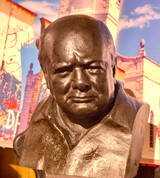 Churchill National Portrait Bust by Oscar Nemon