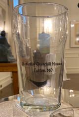 National Churchill Museum Pint Glass