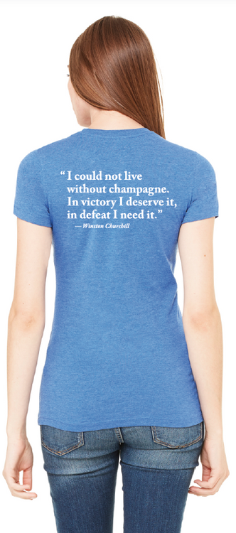 I Could Not Live Without Champagne T-Shirt (Women's)