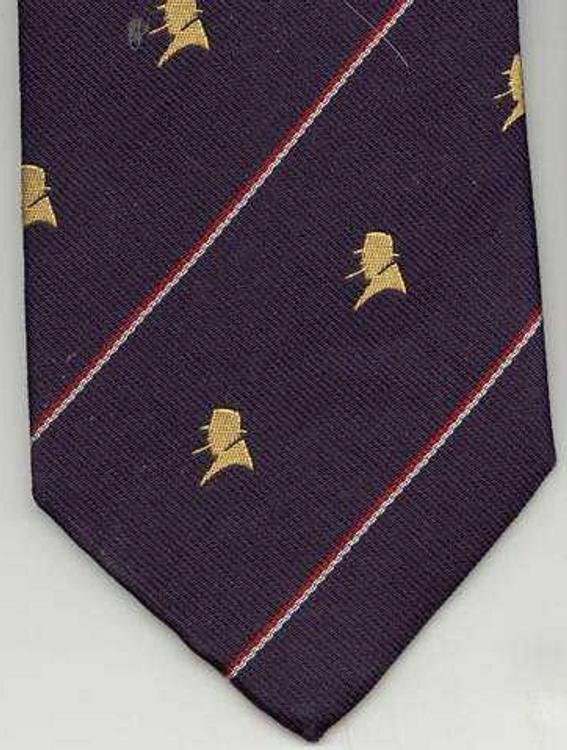 Blue Churchill Necktie
