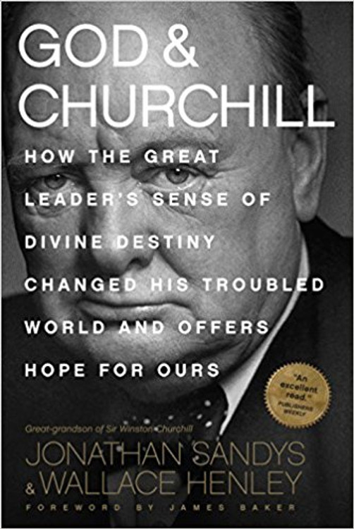 God & Churchill By Jonathan Sandys