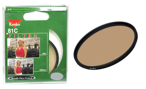 Kenko 81C Double Face Coated Warming 62mm Filter