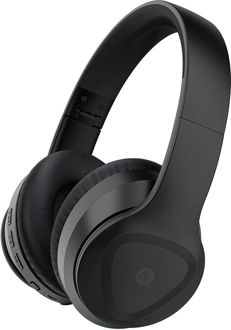 Saramonic Wireless Bluetooth 5.0 ANC Noise-Cancelling Over The Ear Headphones with 40mm Drivers and Leather Earpads (SR-BH600), Black