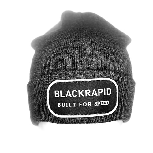 "BlackRapid ""Built For Speed"" Beanie Dark Grey One Size Fits All"