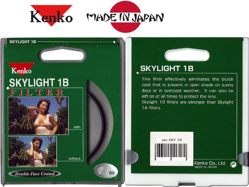 KENKO JAPAN 46mm SKYLIIGHT 1B Protection Filter