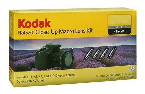 KODAK Close-Up Set 58MM BLACK +1+2+4+10 FK4580