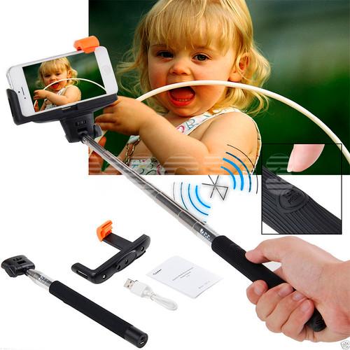"Xit AXTBTMP 40"" Bluetooth Wireless Cell Mobile Phone Monopod Mount Selfie Stick"