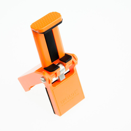 Ztylus Flip mount Holder for Smartphones - Retail Packaging - Orange