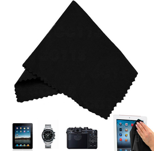 Vivitar Micro-Fiber Cleaning Cloth (Black) HF-MC1