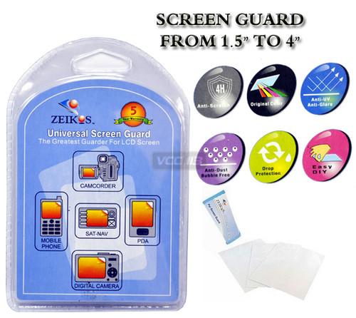 Zeikos Deluxe Screen Protector - Zeikos ZE-SG26R