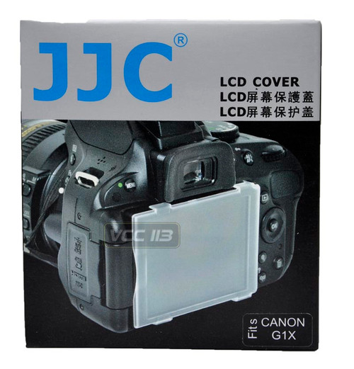 JJC Hard LCD COVER Screen Protector FOR CANON POWERSHOT G1X G1 X