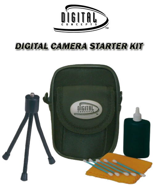 Digital Concepts DC-015 Digital Camera Starter Kit-Small