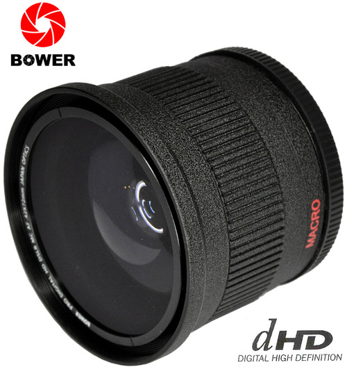72mm Bower 0.42X FishEye Lens BLACK (VLB4272B)