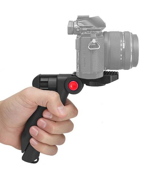 Pistol Grip Tabletop Tripod for Canon Nikon Sony Pentax Panasonic GoPro Smartphone