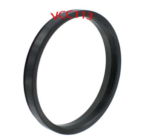 55mm>52mm Step-Down Ring Adapter Black