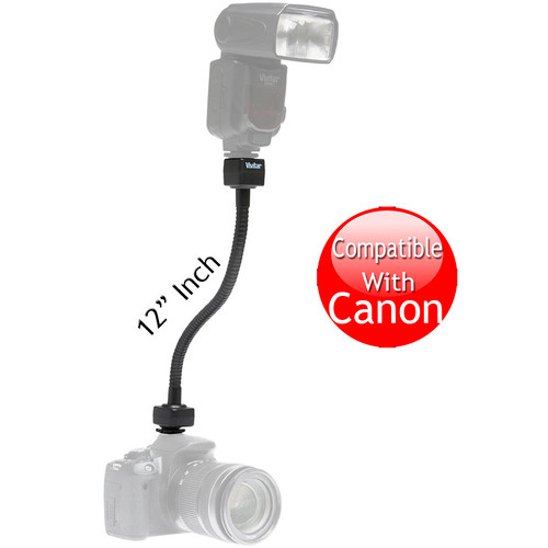 "Vivitar Flexible TTL Flash Cord for Canon E-TTL II (12"")"