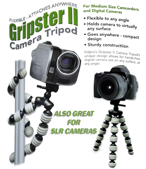 Vidpro Gripster Tripod for DSLR or Camcorder GP-22