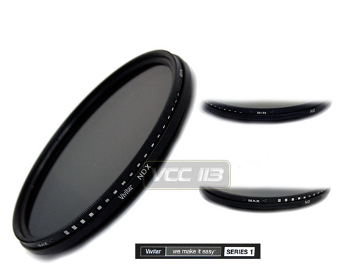 Vivitar Series 1 Variable Range Neutral Density Filter 67mm