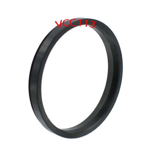 27MM to 37MM STEP UP RING ADAPTER BLACK