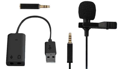 Vivitar Ultra Mini Lavalier Streaming Microphone VIVMIC101