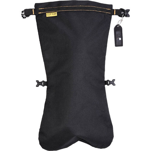 Cotton Carrier Drybag. Waterproof Pouch and Dry Bag for Camera Lens. Perfect for Storing Lenses for Hiking, Rain, or Travel. Large