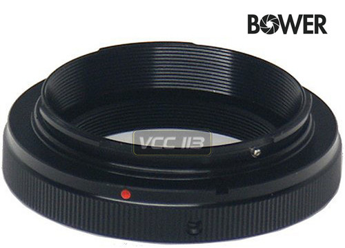 Bower ATEOS T-Mount for Canon EOS