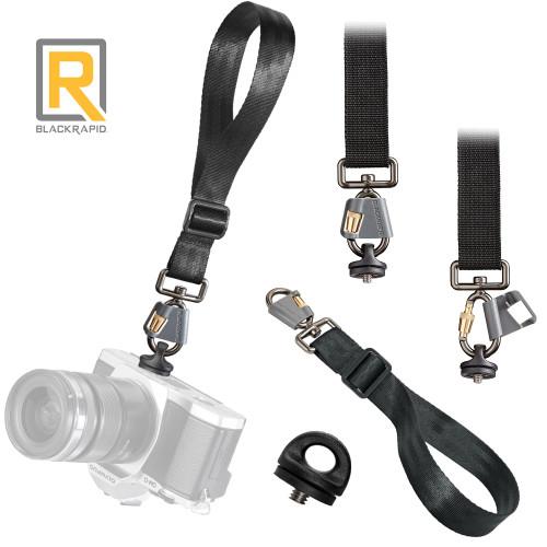 BlackRapid Breathe Wrist Camera Strap with FR-5 FastenR