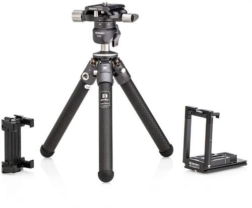 Benro Tablepod Pro Kit with Ballhead and ArcaSmart70 Arca-Swiss Style Camera Plate/Smartphone Adapter (TABLEPODPROKIT)