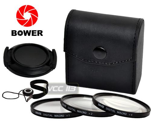 55mm Close-Up Set Filter Macro Lenses BOWER (+1,+2,+4